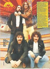 BLACK SABBATH at the fairground magazine PHOTO / Pin Up / Poster 11x8""