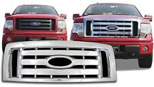Chrome Grille Overlay FITS 2009 2010 2011 2012 Ford F150 (XL / STX / FX4)