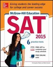McGraw-Hill Education SAT 2015 by Mark Anestis and Christopher Black (2014,...