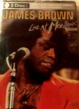 JAMES BROWN LIVE at MONTREUX 1981 Collector's Edition 24 Songs DVD + CD SEALED