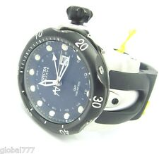 Men's Invicta 7253 Venom Reserve Swiss GMT Black Dial Rubber Watch
