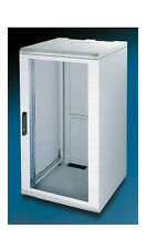 "NEW 19"" 21U 400mm deep wallmount cabinet for multiple uses, beige color"