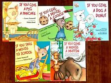 Laura Numeroff If You Give Mouse A Cookie LOT 5 Childrens Books NEW Easter Gift