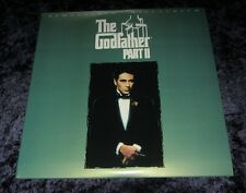 THE GODFATHER PART II  Laser Disc set  AL PACINO , Like New - remastered THX