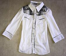 Women's Guess Shirt/Blouse Size XS