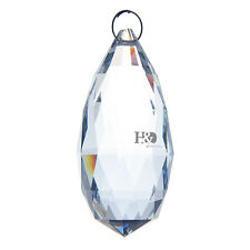 Clear Chandelier Glass Crystals Lamp Prisms Parts Hanging Drops Pendants 90mm