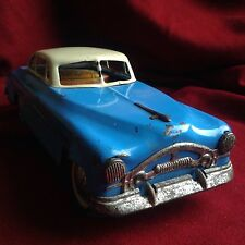 Hungary 1940 Tin Toy Car Foreign Cadillac Ford Mercedes Volkswagen Antique Blue