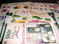 Donna Dewberry Flowers Video VHS  3 RTGs + 2 Brushes Folkart Tole Painting