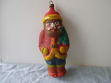 Antique German Lauscha Christmas Figure Santa 1900