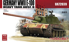 Model Collect 1/72 UA72039 WWII Germany E-100 Heavy Tank
