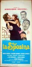 locandina 1976 LA SPOSINA-Antinesca Nemour-Carlo De Mejo-Riccardo Garrone- sexy