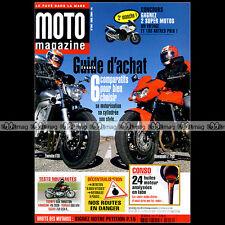 MOTO MAGAZINE N°206 YAMAHA FZ6 FJR 1300 XT 660 X KAWASAKI Z 750 VN 2000 ZX-10R