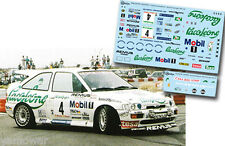 Decal 1:43 Kurt Gottlicher - FORD ESCORT COSWORTH - Rally El Corte Ingles 1995