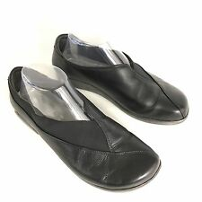 NAOT Montage Slip On Comfort Shoes Loafers Black Leather EU 40 US 9