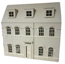 The Abbey House 1/12th scale Georgian Mansion, 6 Large Rooms - FREE UK POSTAGE