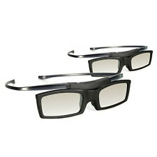 2x Original 3D Glasses SSG-5100GB + Battery for Samsung LED Plasma Smart TV