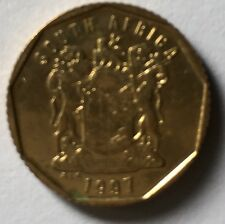 1997 South Africa  10c   coin  very nice!