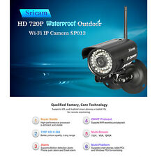 Sricam WiFi Outdoor IP Camera Network P2P Waterproof Nightvision CCTV Security