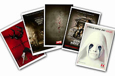 AMERICAN HORROR STORY - SET OF 5 - A4 POSTER PRINTS # 1