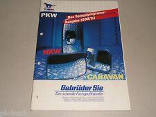 Zubehör Prospekt Katalog TS Union Spiegel PKW NKW Caravan 1992/93