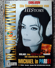Black & White Magazin Nr. 12 Michael Jackson cover HIStory 1995 Paris France