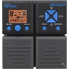 Zoom G1on Guitar Multi-Effect Processing Overdrive Distortion Delay Reverb Pedal