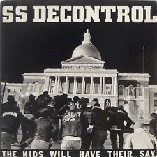 SS DECONTROL - The Kids Will Have Their Say - LP