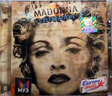 "MADONNA""Celebration""GOLD CD NIKITIN RUSSIA OUT OF PRINT SEALED"