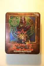 Yu-Gi-Oh Collector Tin Box YuGi Dark Magician sealed LOB MRD MRL PSV LON Booster