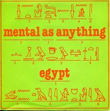 "MENTAL AS ANYTHING  - 7""  Egypt / Pork Is Not A Gift  (UK / Virgin VS348 / 1980)"