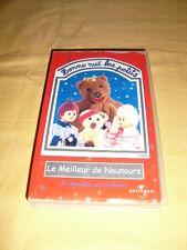 BONNE NUIT LES PETITS  VHS 23 épisodes Le meilleur de Nounours
