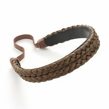 OneDor Braids Braided Headband Synthetic Fashion Plaits Hairband 12#-Light Brown