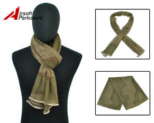 Tactical Military Multifunctional Camouflage Scrim Scarf Face Mask Desert Camo