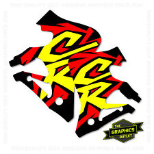 HONDA 1996 RADIATOR SHROUD CR125-250 MOTOCROSS MX GRAPHICS DECALS STICKERS