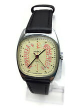 Original Russian USSR Soviet QUARTZ watch Medical Pulsemeter CHAYKA Chaika