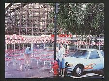 Amusement Park real photo RPPC postcard Doswell, VA Kings Dominion Stan Mikita's