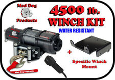 4500lb Mad Dog Winch Mount Combo New Holland 2010-2012 Rustler 120 / 125