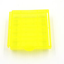 Plastic Translucent Case Holder Storage Box for AA AAA Battery 1/5/10X