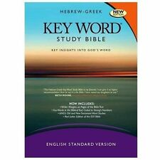 HEBREW-GREEK KEY WORD STUDY BIBLE - NEW HARDCOVER BOOK