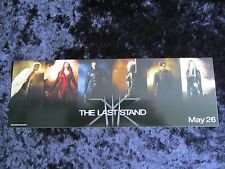 X-MEN THE LAST STAND - WOLVERINE, HUGH JACKMAN promotional sticker