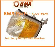 Mercedes W202 OEM Front Left Drivers Side Turn Signal Light Lens  2028261143 NEW