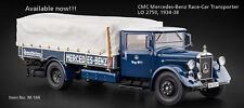 M-144 Mercedes-Benz Racing Car Transporter LO2750  1934-38,1:18 CMC