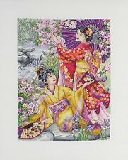 Anchor Maia - Cross Stitch Kit - Geishas - 30 x 40 cm - 01025