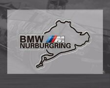 New NURBURGRING Logo Car Window Tank Sticker Truck Decal Badge For BMW 2PCS Gift