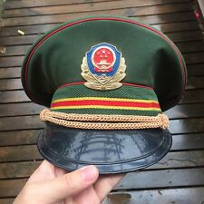 PLA M83 ARMED POLICE OFFICER CAP uniform fsb cia chinese china hat army H11