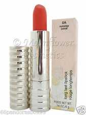 CLINIQUE Long Last Lipstick ♡ RUNWAY CORAL ♡ New & Boxed! rrp £18! FREE UK P&P