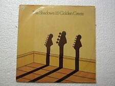 THE SHADOWS 20 GOLDEN GREATS DIFF DISC RARE LP record vinyl INDIA INDIAN