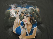 Thunder Tower Harley Davidson t-shirt mens XL Columbia SC new NWT green tee $31