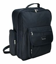 Jazzi Black Extra Large Lever Arch Rucksack Backpack