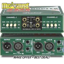 Radial JDI DUPLEX STEREO DIRECT BOX - AUTHORIZED DEALER - NEW - MAKE OFFER!